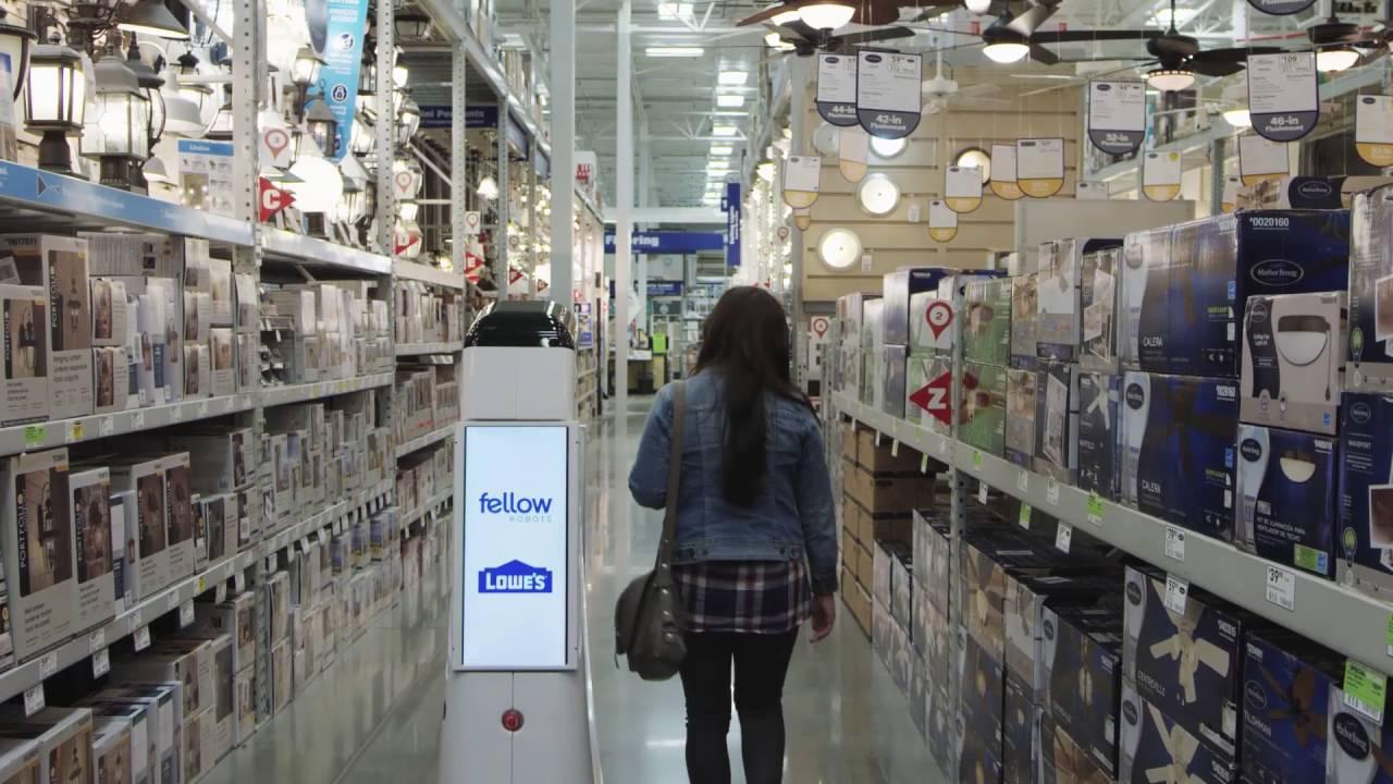 Lowe's 고객서비스 로봇 ' LowBot' 매장 배치 시작
